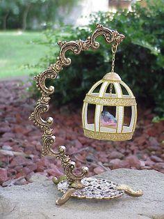 Real GOOSE Egg Bird Cage Keepsake Collectible Glitter Swarovski Finch Gift | eBay