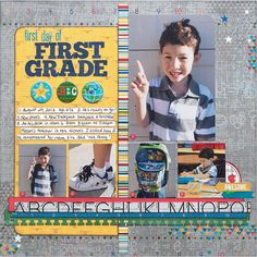 First Day of First Grade by Andrea Friebus