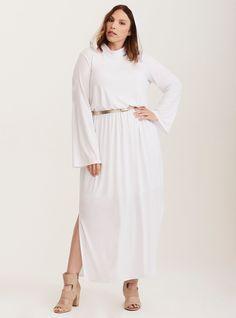97bdb6ead755 Star Wars Princess Leia White Maxi Dress