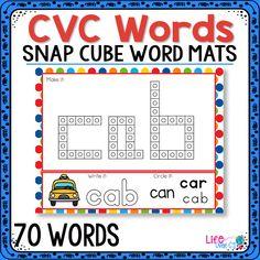70 CVC Snap Cube Wor