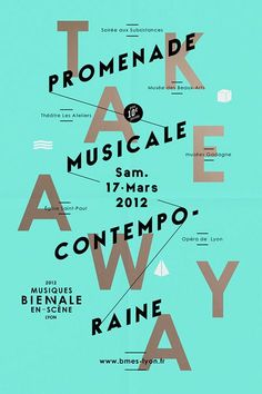 Musiques Bienale En-Scene by Les Graphiquants