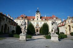 Castle Valtice, South Morava (Brings back memories!)