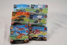 1999 LEGO McDonald's Happy Meal Toys Lot blocks vehicle plane boat helicopter #LEGO #HappyMeal #McDonalds