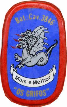 Batalhão de Cavalaria 3846 Guiné Porsche Logo, Logos, War, Logo