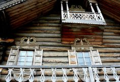 Kiji, travail du bois. Karelia