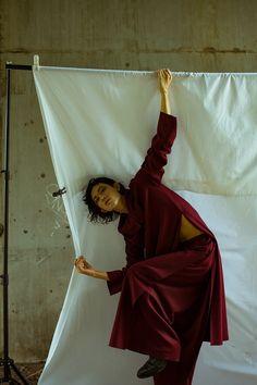 a minimal and fluid editorial by Sora Kusaka in Tokyo- Fashion Grunge