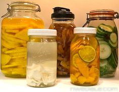 Infuse Your Booze! A Complete Guide To DIY Flavored Liquors  |  Northwest Edible Life