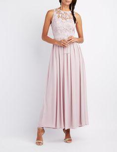 82b53f20e1bc #CRItsOn #bridesmaids #purple #charlotterusse Long Chiffon Skirt, Chiffon  Maxi Dress,