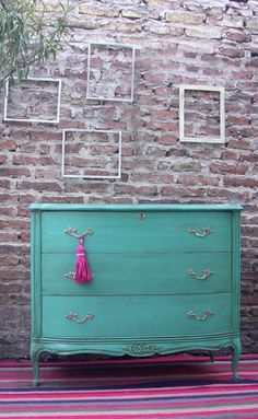 Mueble Luis XV patinado Hand Painted Furniture, Upcycled Furniture, Diy Furniture, Furniture Design, Restoring Old Furniture, Bedroom Color Schemes, Consoles, New Home Designs, Shabby Chic Style
