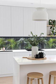 Home Interior Design — White kitchen interiors