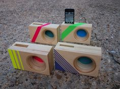 Design Your Own DOCK Box  Acoustic iPhone Amplifier by IndexDrums, $45.00