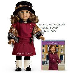 American Girl®: Rebecca Doll. Future Christmas :) | AG Rebecca ...