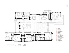 Image 14 of 16 from gallery of Menlo Oaks Residence / Ana Williamson Architect. Floor Plan