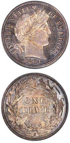 David Lawrence Rare Coins has this on Collectors Corner - 1894-S 10C SP64BM PCGS…