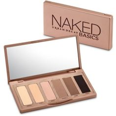 Urban Decay  Naked Basics Palette (€24) ❤ liked on Polyvore featuring beauty products, makeup, beauty, fillers, cosmetics, eyeshadow, naked basics, urban decay makeup, urban decay and palette makeup