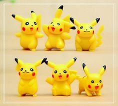 6PC Pokemon Picacho Figure Toys Collectibles Fairy by GfanStudio