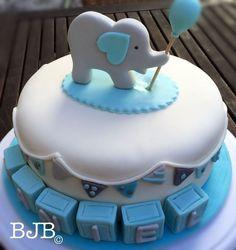 Netter Elefantenkuchen Más - #BabyKuchen