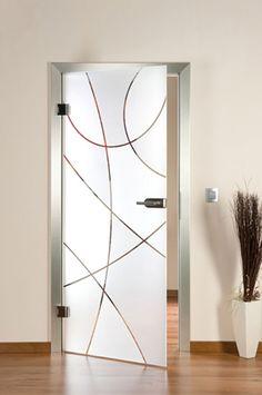 Modern Glass Door Designs For Your Bathroom - Door Design, Frosted Glass Design, Glass Kitchen, New Interior Design, Doors Interior, Wood Doors Interior, Trending Decor, Door Glass Design, Modern Glass
