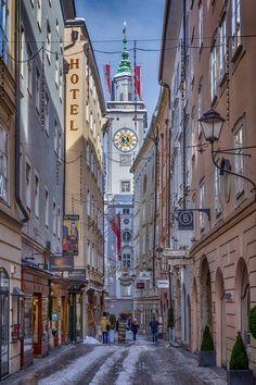 Salzburg Old City, Austria.