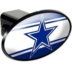 Dallas Cowboys Oval Trailer Hitch Cover