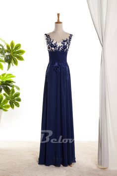 Prom Dress, Blue Dress, Chiffon Dress, Illusion Dress, Blue Prom Dress, Dress Prom, Dress Illusion, Blue Chiffon Dress, Dress Blue, Bodice Dress