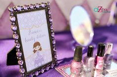 Princess Beauty station with nail paint and stickers