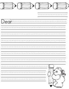 What the Teacher Wants!: How I Spice Up Daily 5, free google download of leter writing paper (in google docs)