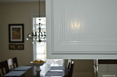 Inspired Wives: How to Paint Oak Kitchen Cabinets