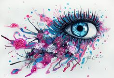 100 surreal watercolor art pieces is part of Eye painting - 100 Surreal Watercolor Art Pieces Watercolorart Eyes Arte Fashion, Eyes Artwork, Wow Art, Art Plastique, Cool Drawings, Drawings Of Eyes, Oeuvre D'art, Painting & Drawing, Body Painting