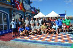 All the participants in the 2nd Cmas World Championships of Underwater Video. 7-12 October.  Participantes del 2º Mundial de Video Submarino celebrado del 7-12 Octubre