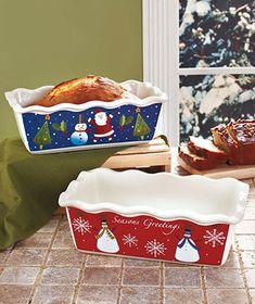 Holiday Loaf Pan Sets