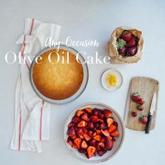 The perfect all-occasion Olive Oil Cake - Hither & Thither