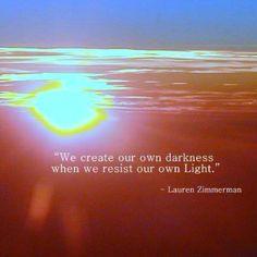 Let your inner light be radiant