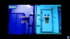 Test di una finestra prodotta con profili Deceuninck sottoposta a condizioni climatiche estreme.  #zendowneo #deceuninck #finestra #BestInClass #caldo #freddo #pioggia #vento #clima #isolante
