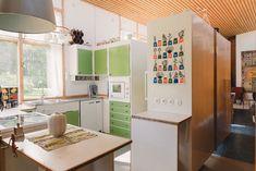Greta Grossman Villa Sundin kitchen