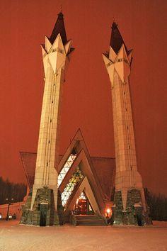 Lala Tulpan Mosque, Ufa, Bashkortostan Republic, Russia
