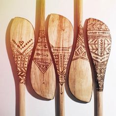In the Studio: wood burned spoons — Becca Cahan – Wood Burning Pattern Wood Burning Kits, Wood Burning Crafts, Wood Burning Patterns, Spoon Art, Wood Spoon, Wooden Spoon Crafts, Into The Woods, Wood Slices, Home Crafts