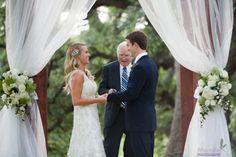 Outdoor wedding ceremony.....i love this
