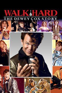 Walk Hard: The Dewey Cox Story Movie Poster - John C. Reilly, Jenna Fischer, Kristen Wiig  #WalkHard, #TheDeweyCoxStory, #MoviePoster, #Comedy, #JakeKasdan, #JennaFischer, #JohnC, #Reilly, #KristenWiig