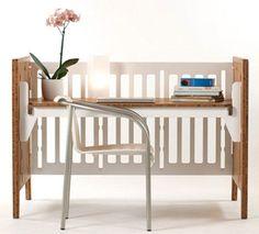 Reciclar la cuna del bebé / Reciclar o berço do bebê
