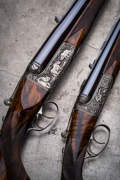Westley Richards Droplocks in .600 and .243.