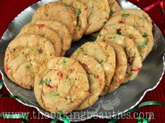 Gluten-free White Chocolate and Peppermint Cookies