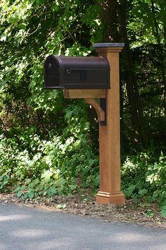 mailbox post ideas. Newberry Cedar Mailbox Post Sleeve Ideas