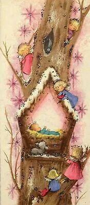 Beautiful Vintage Christmas Card♡