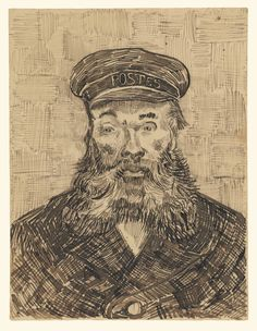 Vincent van Gogh, Portrait of Joseph Roulin, 1888, The J. Paul Getty Museum, Los…