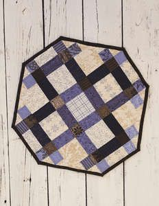- Sticks & Stones Pattern Only - Craft Town Fabrics Table Topper Patterns, Table Toppers, Round Table Covers, Picnic Blanket, Outdoor Blanket, Tablerunners, Sticks And Stones, Quilted Table Runners, Small Quilts