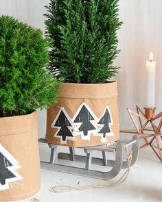 (Weihnachtliche) Übertöpfe aus SnapPap selber nähen | DIY christmas crafts idea & project | gifts | Tutorial
