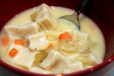 Knoeffla Soup