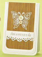 butterflies, buttons and wood grain
