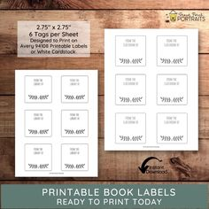 Use these book stickers on your favorite books as you build your classroom or home library — an instant digital download. Just attach to the inside of your new books and you will never mind lending a book to a friend or student again! Perfect gift for a book-themed baby shower, book clubs, teachers, book lovers, and budding librarians. Include in your next book gift basket. Book Labels, Printable Labels, Printable Stickers, Printables, New Teacher Gifts, New Teachers, Book Clubs, Book Club Books, Personal Library